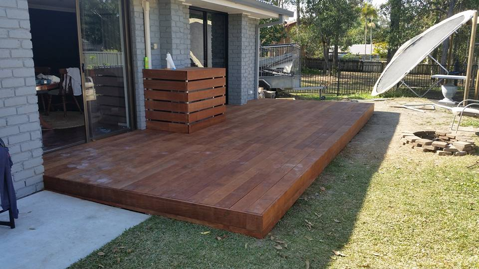 outdoor decking gold coast