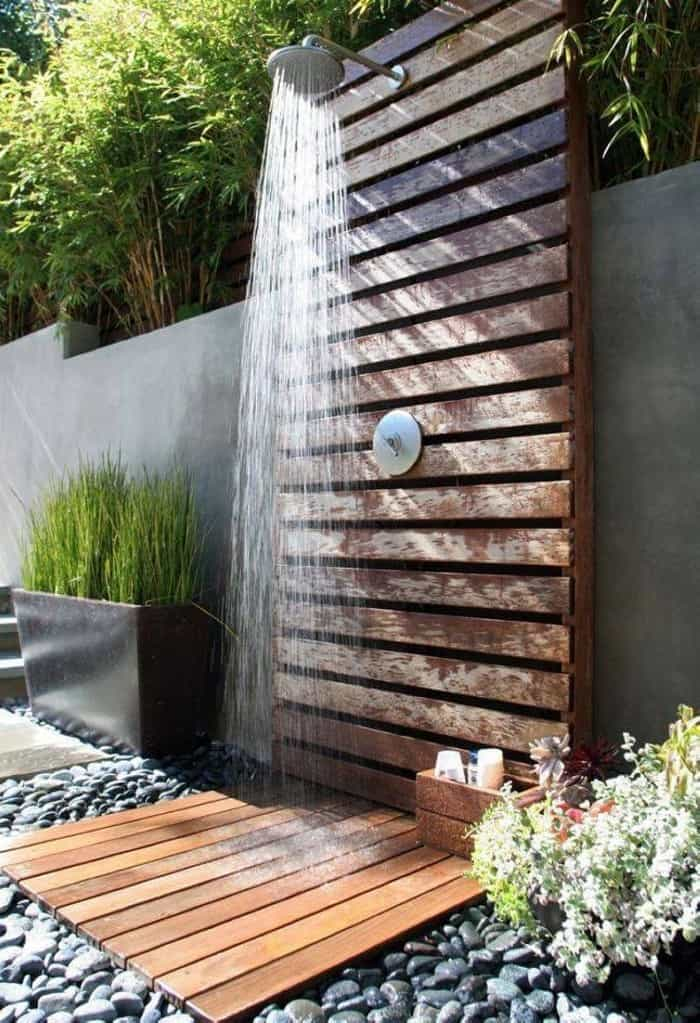 outdoor shower gold coast
