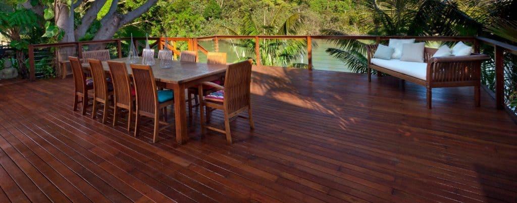 hardwood decking gold coast